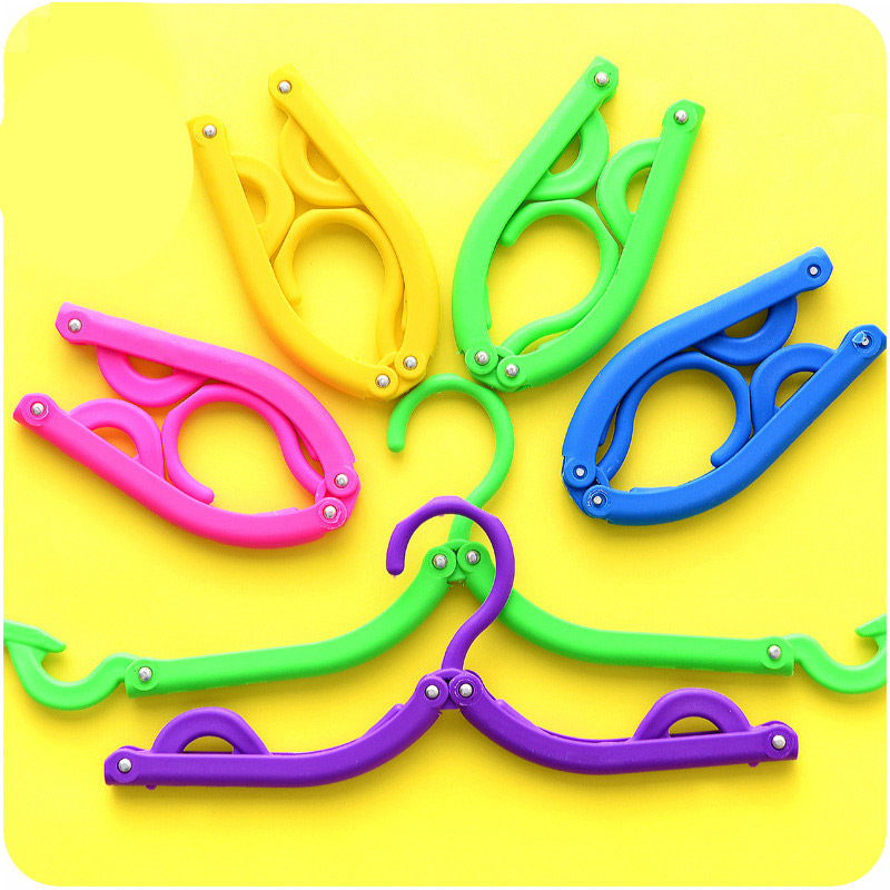 Creative Multicolor Foldable Travel Accessories Portable Multifunction Hanger Unisex Organizer Woman Journey Security Accessory