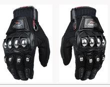 Новый Горячий Металл Сильный Кулак Безумной Гонки Мотокросс Мотоцикл Броня Перчатки
