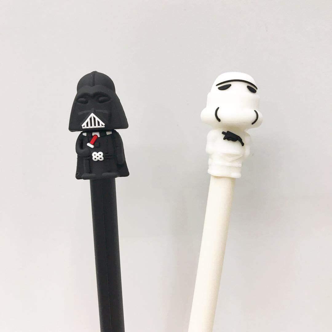 36 pcs Gel Pens Warrior black colored kawaii gift gel-ink pens pens for writing Cute stationery office school supplies