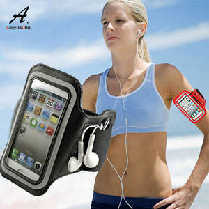 Armbands Phone-Case Waterproof Gym Run for 11/11r/Xs/.. Black