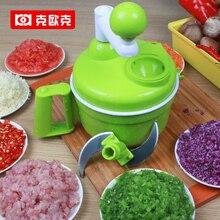 Trituradora de múltiples funciones manual picadora de carne picada verduras máquina dumpling relleno de platos de la cocina de corte galleta Alimentos