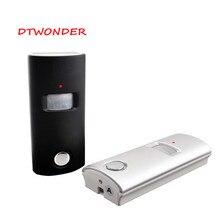 DTWONDER охранная сигнализация солнечный датчик и детектор беспроводной PIR Сигнализация Движения сигнализация от пульта дистанционного управления SP63
