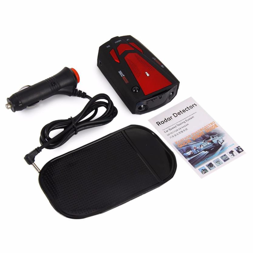 OMESHIN 360 Degree Car 16 Band V7 GPS Speed Police Safe Radar Detector Voice Alert Apr19 Drop Shipping