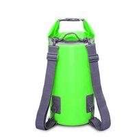 Открытый Водонепроницаемый сухой мешок рюкзак для сплава по рекам мешок хранения Рафтинг Спорт Каякинг плавание дорожные косметички 5L 10L