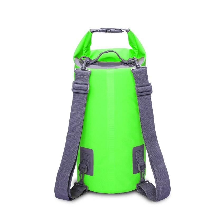 Outdoor Waterproof Dry Bag Rafting Backpack Sack Storage Bag Rafting Sports Kayaking Swimming Bag Travel Kits 5L 10L ultralight 5l portable outdoor camping travel rafting dry waterproof bag swimming bags outdoor sports travel kit with 4 colors