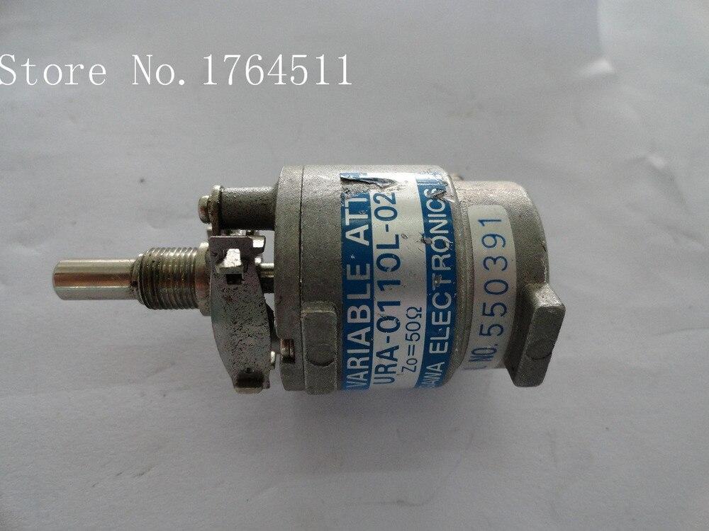 [BELLA] Hand Adjustable Step Attenuator TME URA-0110L-02 DC-3GHz 10dB SMA  --2PCS/LOT