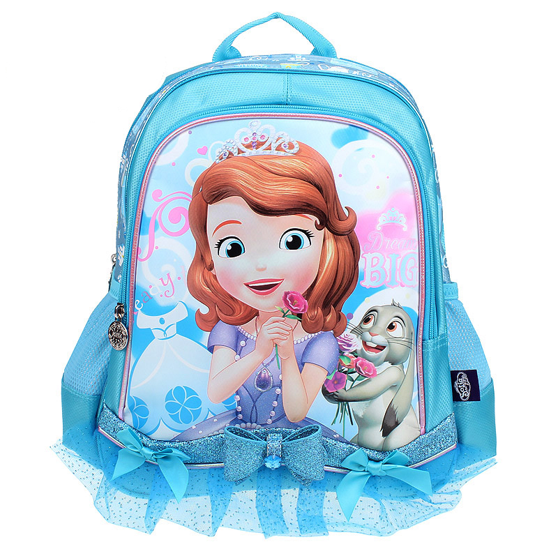 f7fd769ccef8 New Sofia the First Princess Sofia Kids Backpack School Bags for Girls  Children Primary Elementary School