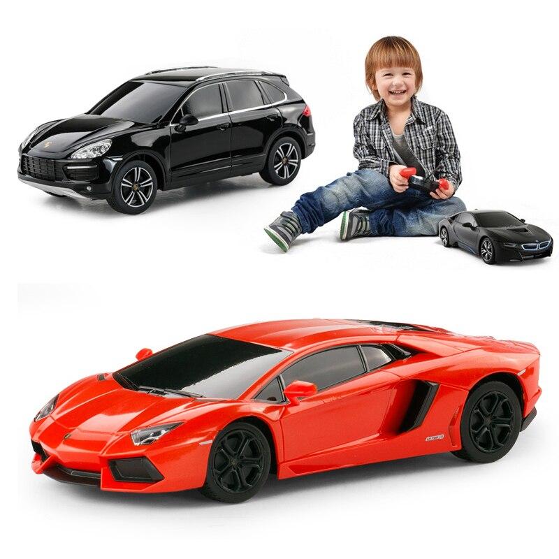 Rastar haut de gamme Original RC voiture 1:24 Machine télécommande jouets Radio contrôle voiture panneau modèle électrique jouets pour garçons enfants cadeaux