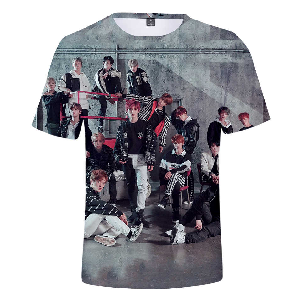 New Fashion Harajuku Shirt Bigbang Kpop Clothes 3D Cartoon Printed T-shirt Hip Hop Streetwear Tshirt Plus Size Tops Camiseta 4XL