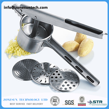 Vintage Hand Press Manual Juicer Potatoes noodles Orange Lemon Lime Squeezer Kitchen Cookware fresh juice tool