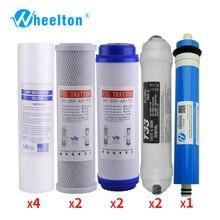 Wheelton новый очиститель воды 5 этап Фильтра обратного осмоса Системы фильтры для воды для два года выполните бытового использования