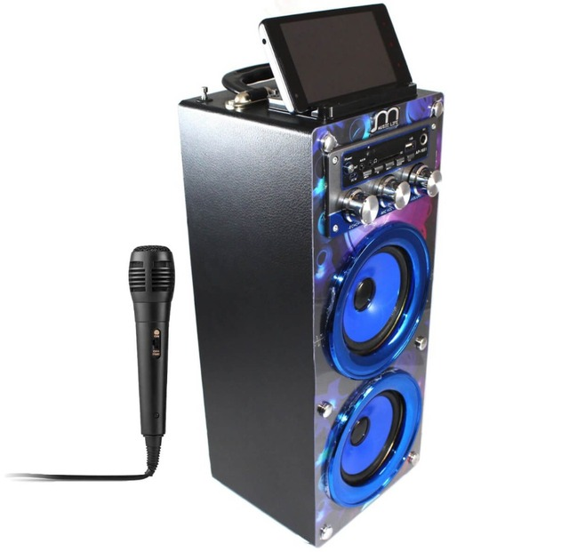 Comprar altavoces karaoke micr fono for Altavoz de musica
