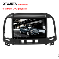 OTOJETA Autoradio 2GB Ram 32GB Rom Android 6 0 1 Car Dvd Player For Hyundai Santa