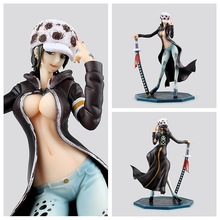 Sexy Female Version Trafalgar D Water Law Action Figure 22CM
