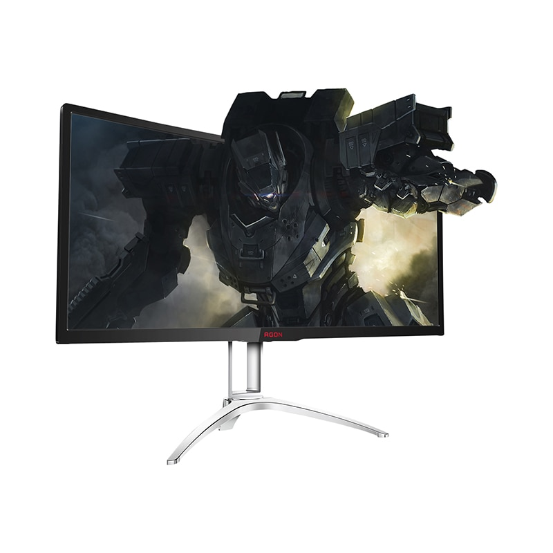 Computer Office Peripherals Monitors Accessories LCD Monitors 35 AOC AGON AG352QCX gaming display usb hdmi monitor rtd2668 universal hdmi vga audio lcd controller board kit for 15 6 inch n156bge l41 1366x768 lvds monitor kit easy to diy