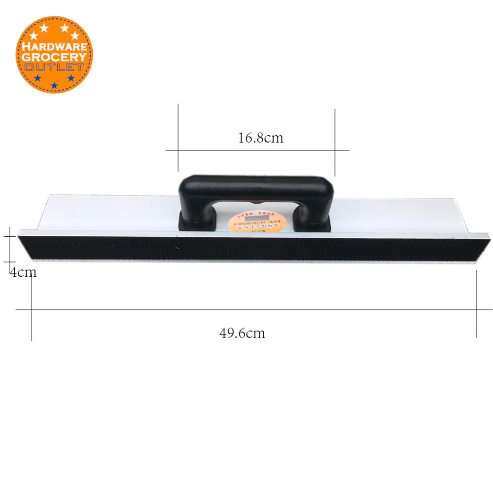 Self Adhesive Drywall Inside Corner Sander Sanding Tool Aluminium Alloy Sand Pap. length49.6cm 11 11 free shipping adhesive sander back pad sanding machine mat black white for makita 9035