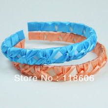 2013 повязки для взрослых и детей атласная лента-повязка на голову детский обруч для волос 120 шт/партия