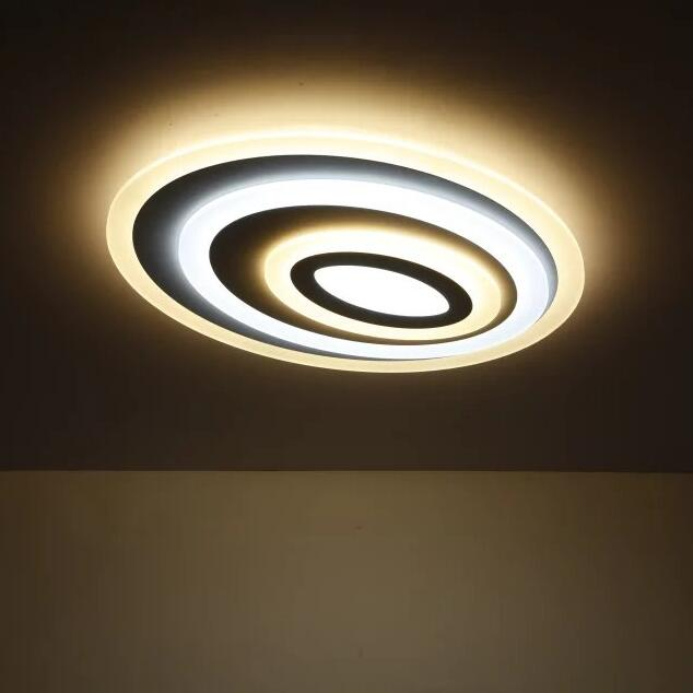 Dimming+Remote Control Modern Led Ceiling Lights For Living Room Bedroom 3 Color Temperature New Design Ceiling Lamp Fixtures xiaomi mijia bedroom kitchen led ceiling lamp lights wifi remote control temperature and humidity sensor ultra slim design