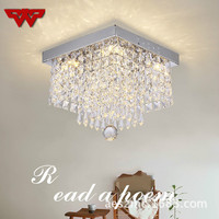 Simple Corridor Living Room LED Ceiling Glass Lamp Balcony Porch Corridor Aisle Lamp Creative Ceiling Lamp