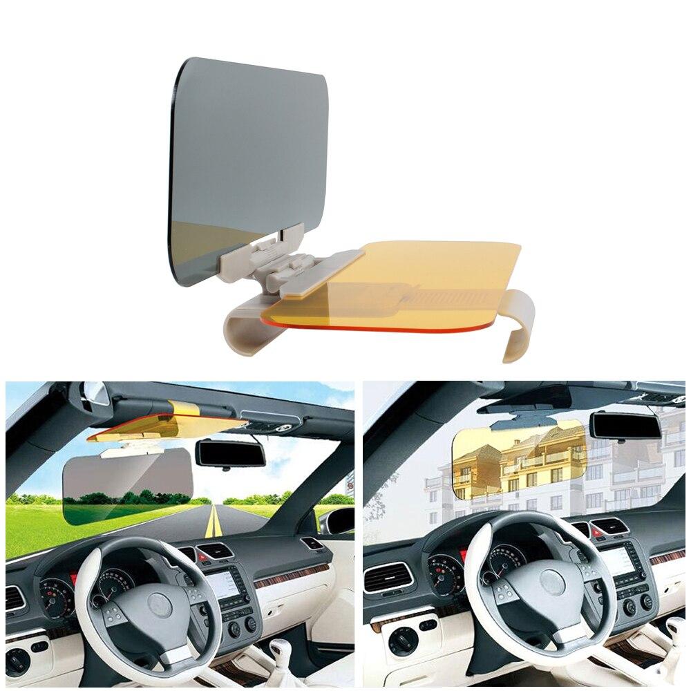 Mobil Sun Visor Anti Silau Goggle 2 In 1 Auto Hari Night Vision Pelindung Kaca Car Hd Cermin Kerai Di Interior Dari Sepeda Motor