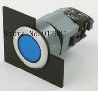[ZOB] 704.032.518 reset green Swiss EAO illuminated pushbutton switch 704.062.618 metal ring ip65 2PCS/LOT