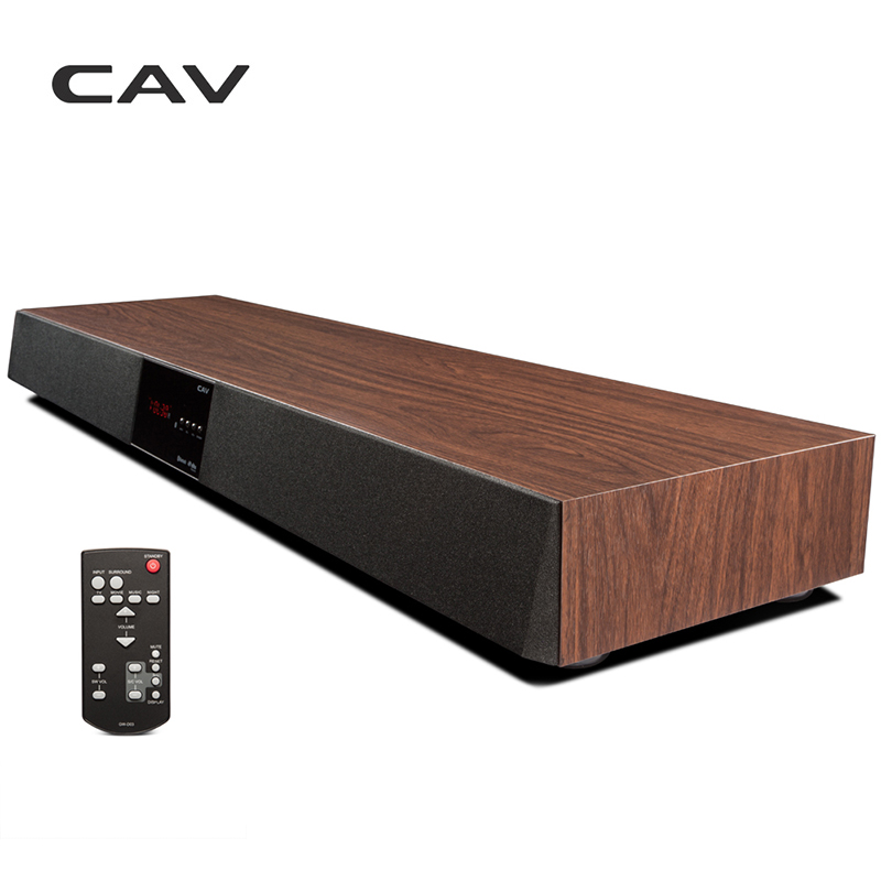 CAV TM1200A Bluetooth Soundbar TV Suono Surround Home Theater Soundbar Altoparlante Senza Fili Subwoofer Colonna DTS Base Con Amplificatore