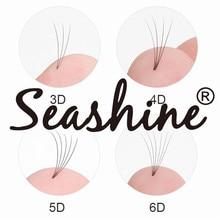 Wide Fans 3D 4D 5D 6D Short Stem Volume Lash Extension Premade 8-18mm Eyelash Supplies