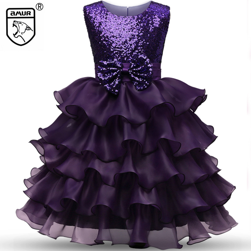 Fashion Sequin Girls Dress Summer Sleeveless Tutu Princess Wedding Party Layered Dresses Ball Gown Kids Clothes Vestido de Festa geox w6425ft0407f4300