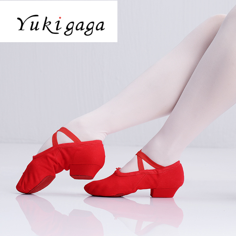 Yukigaga Heels Children Latin Dance Shoes Salsa Shoes Tango Ballroom Dancing Shoes For Girls High Quality
