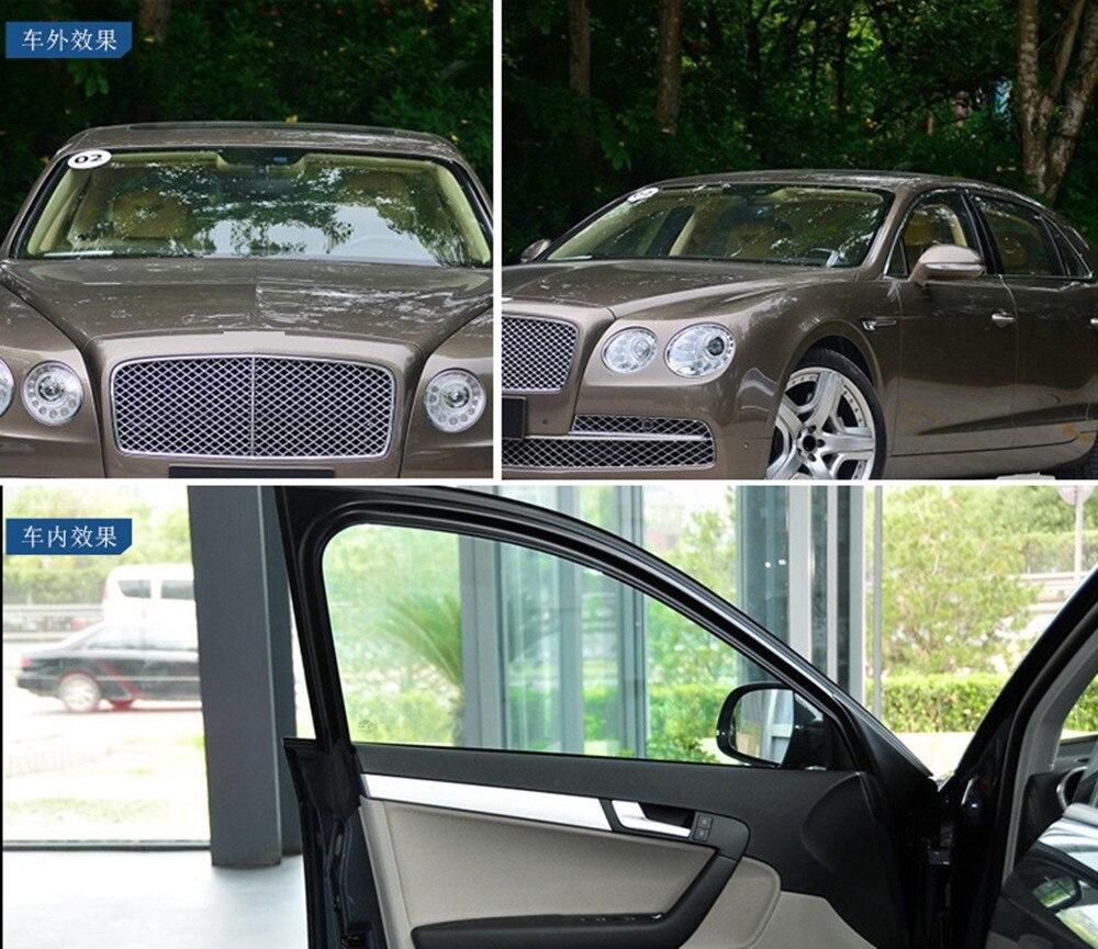2 Mil 100% UV 70% VLT Auto voiture & maison fenêtre teintes Nano céramique vinyle teinte fenêtre Film taille 152 cm x 300 cm