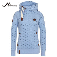 Avodovama M Women New Fashion Winter Long Sleeve Shirts Hooded Casual Tops Plus Size S 5XL