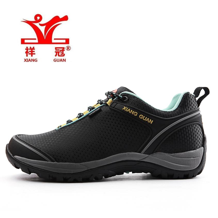 ФОТО High Quality Mens Sports Outdoor Hiking Trekking Shoes Sneakers For Men Sport Wearable Climbing Mountain Shoes Man Sneaker