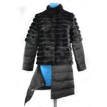 thick coat women fur