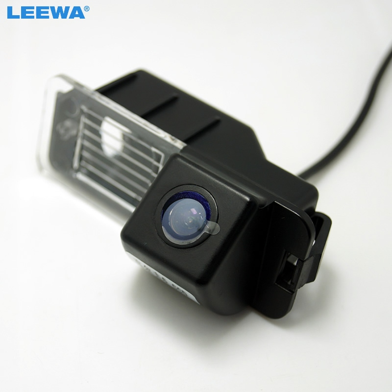 LEEWA For Volkswagen Golf6/Magotan/Beetle/SCIROCCO/BORA/POLO/PASSAT B7 HD Auto Backup Rear View Car Camera #CA4828 leewa for volkswagen golf6 magotan beetle scirocco bora polo passat b7 hd auto backup rear view car camera ca4828