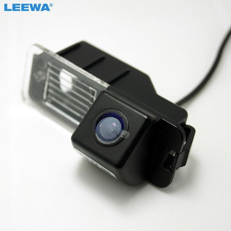 LEEWA For Volkswagen Golf6/Magotan/Beetle/SCIROCCO/BORA/POLO/PASSAT B7 HD Auto Backup Rear View Car Camera  #CA4828