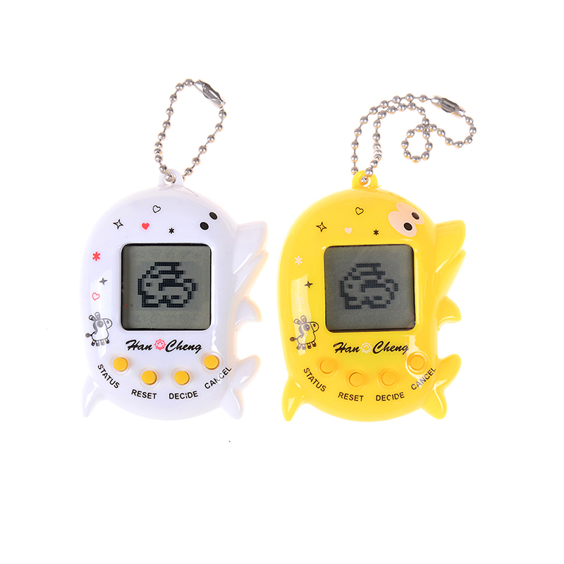 Dropshipping Multi-colors 90s Nostalgic 168 Pets In 1 Virtual Cyber Pet Toy Tamagotchis Electronic Pets Keychains Toys