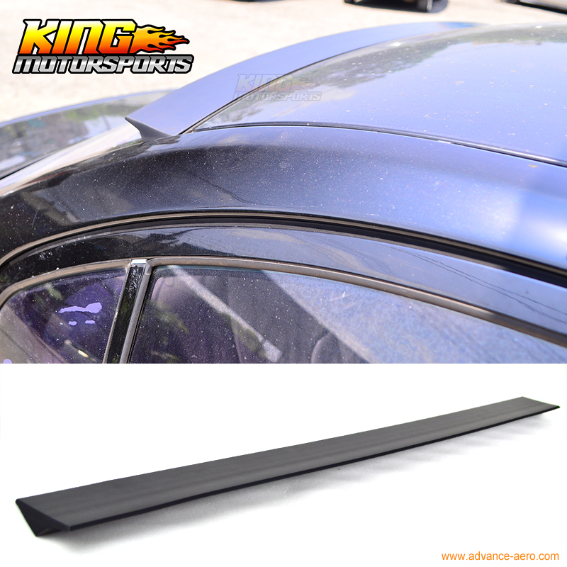 For 2004-2007 05 06 Volvo S40 2nd VRS Style Unpainted Rear Roof Spoiler Wing Visor - PUF for 09 10 11 mazda 6 2nd vrs style roof spoiler wing unpainted puf