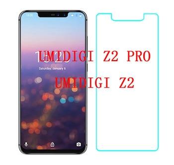 Перейти на Алиэкспресс и купить Для Umidigi Z2 закаленное стекло 9H Высококачественная защитная пленка Взрывозащищенная защитная пленка для Umidigi Z2 pro стекло Z 2