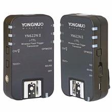 YONGNUO YN-622N II YN622N II TTL Беспроводная вспышка триггера для Nikon D800 D700 D600 D610 D300