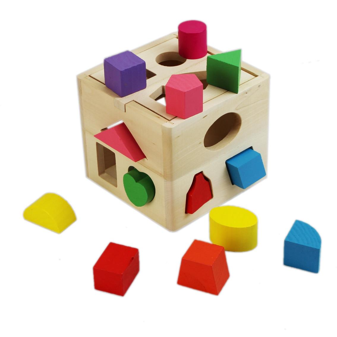 Educational Toys 0 3 Years Old Thirteen Hole Intelligence