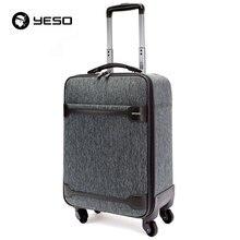 YESO Trolley Reisetasche Handgepäck 2016 Neue Ankunft Roll Duffle Taschen Wasserdicht Polyester Reisetaschen Mit Rad Gepäck