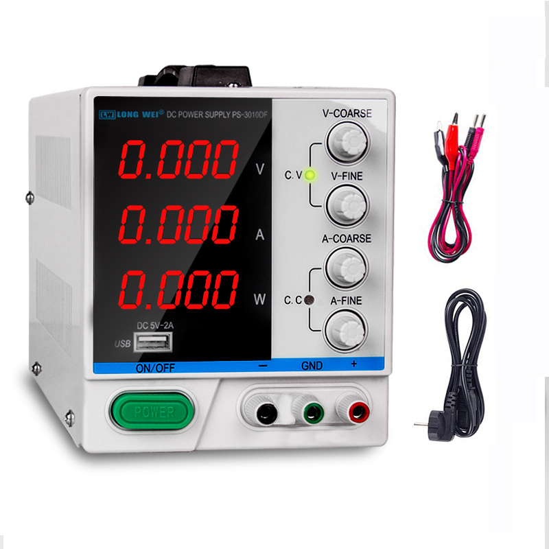 New Laboratory Scientific Voltage Regulators Adjustable DC Power supply 120V 30V 65V 10A 5A 3A 1A 2A Single Phase High Switching