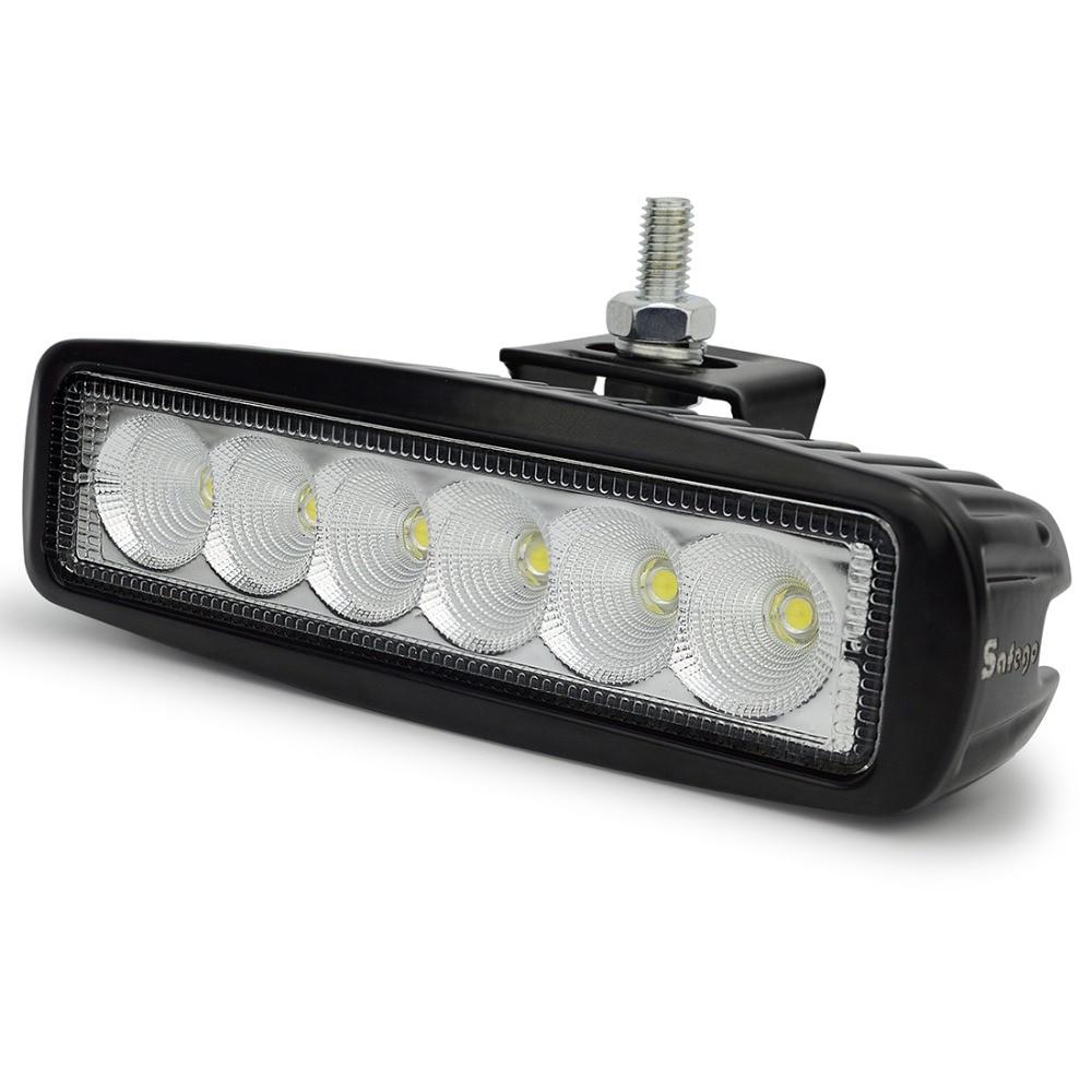 Safego 6 hüvelykes 18W-os 12 V-os LED munkafényszóró traktorok - Autó világítás