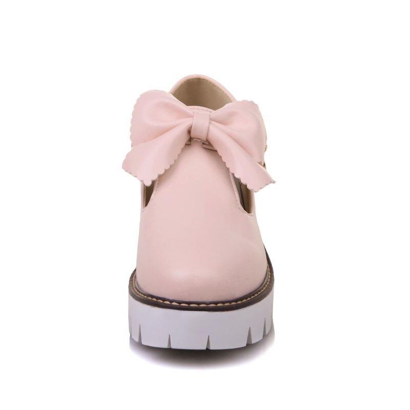 Arc Grande 34 blanc Plate rose Pompes Printemps Arrivée Chaussures Taille 43 Hauts Karinluna forme Doux Nouvelle 2018 Talons Femme Femmes Noir wvYqfIS