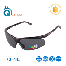 XQHD Polarized Sports Sunglasses,with Adjustable Nose Pad & Temple Tip - Men Wom