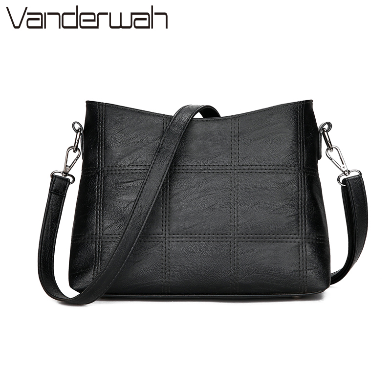 NEW Plaid Stitching luxury handbags women bags designer crossbody bags for women Messenger Bags shoulder bag female Sac a Main luxury handbags women bucket bags lock designer female leather shoulder crossbody bags for women messenger bags bolsa sac a main