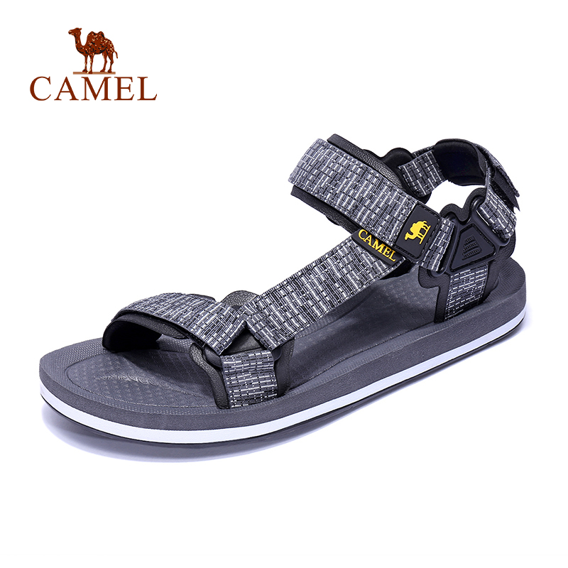 CAMEL Men Women Hiking Sandals Waterproof Anti-slip High Quality Outdoor Trekking Shoes Beach Fishing Climbing Sandals