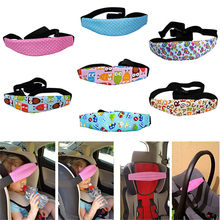 Safety Belt Baby Car Seat Belts Sleep Aid Head Support For Kids Toddler Car Seat Travel Sleep Aid Head Strap Cotton Soft(China)
