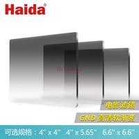 MC Soft GND0.3/0.6/0.9/1.2/1.5/1.8/2.1 film Cinema square Graduated Neutral Density nd lens Filter 4x4/4x5.65/6.6x6.6 camera