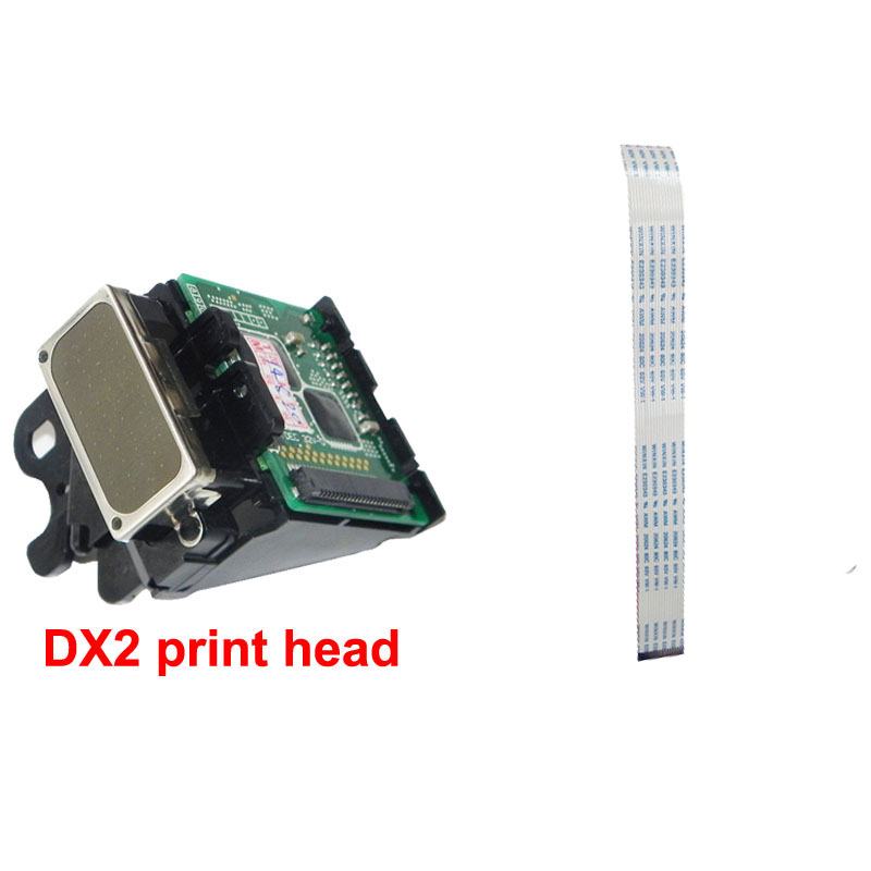 OYfame New DX2 Solvent Printhead For <font><b>Epson</b></font> 1520k Pro3000 7000 <font><b>9500</b></font> For Roland SJ500 SJ600 With 1 pcs DX2 Prtinthead Line Free image
